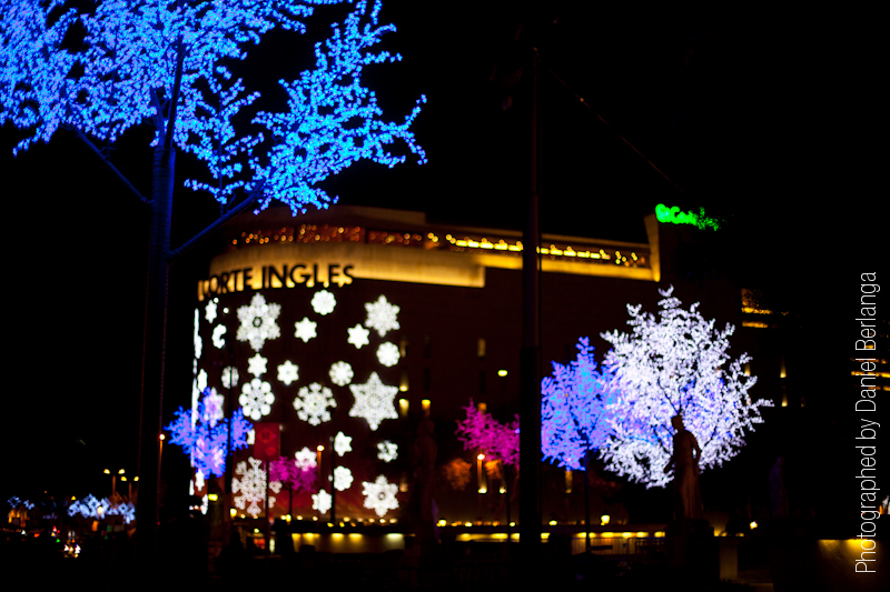 Luces de Navidad en Barcelona 2011