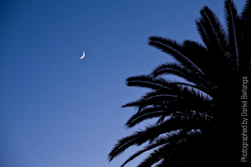 En la noche...