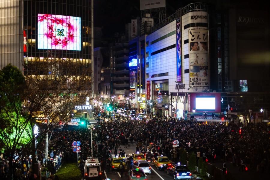 Shibuya en fin de año