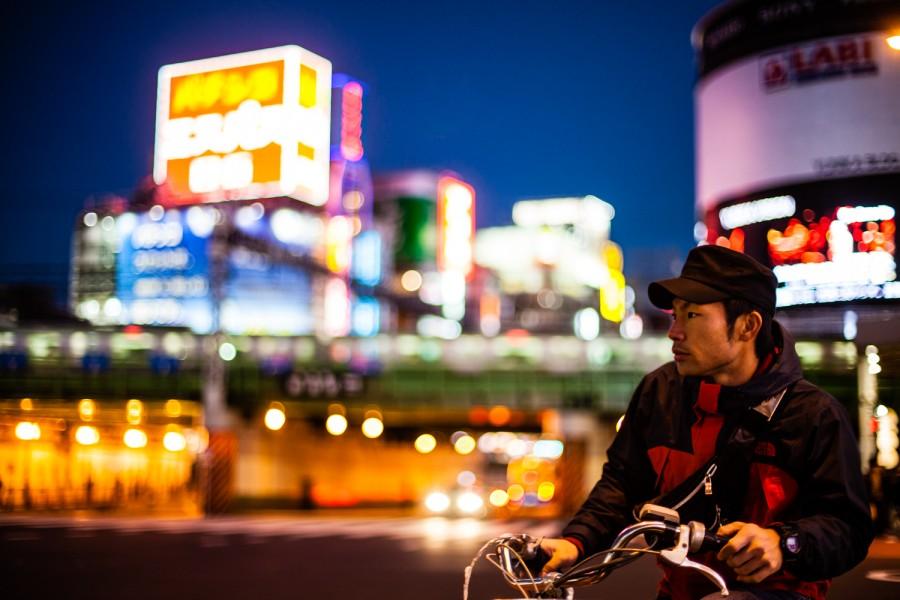 En bici por Shinkuju