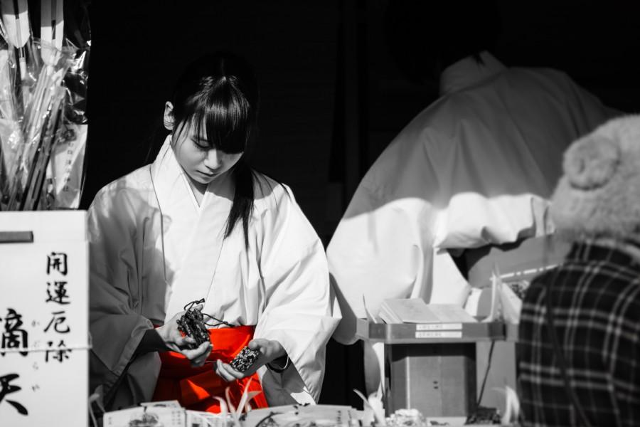 Maiko del templo Sensôji