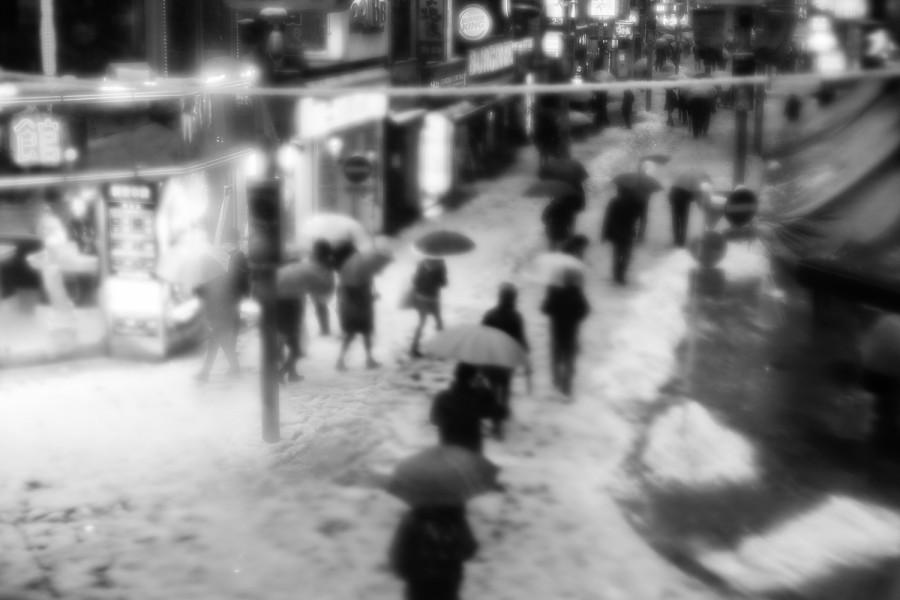 Shibuya nevado
