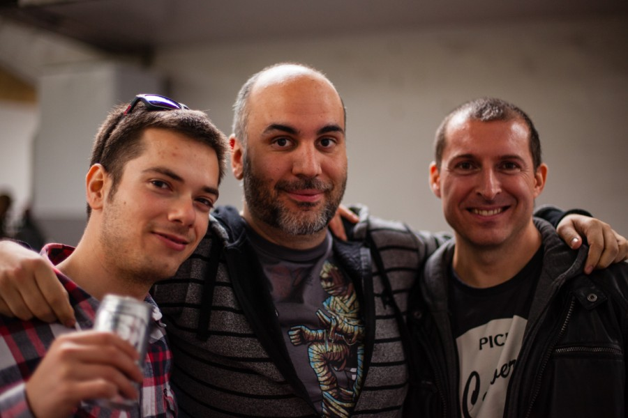 Alain, Rodrigo y Alan