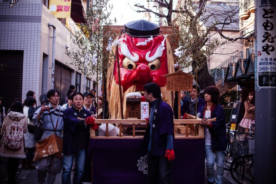 Cabeza de tengu