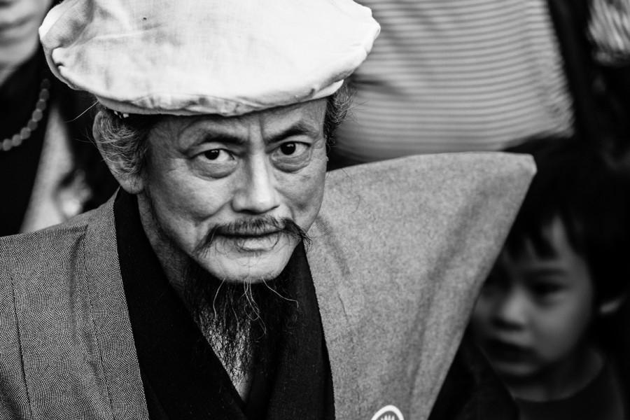 Rostros del Tengu Matsuri