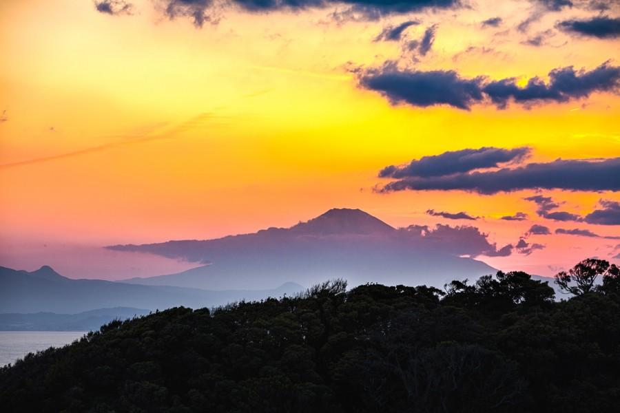 Fuji al atardecer