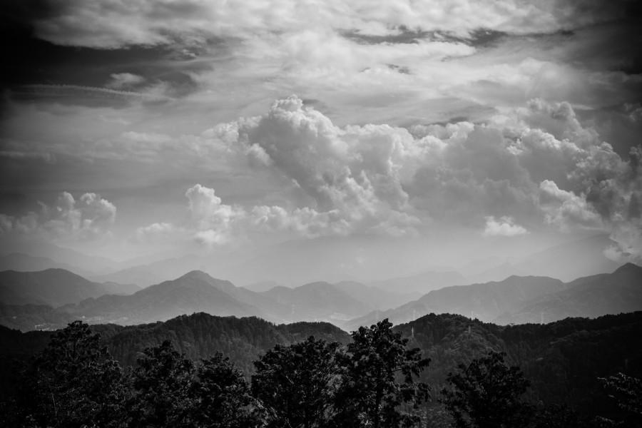 Vistas desde el Monte Takao