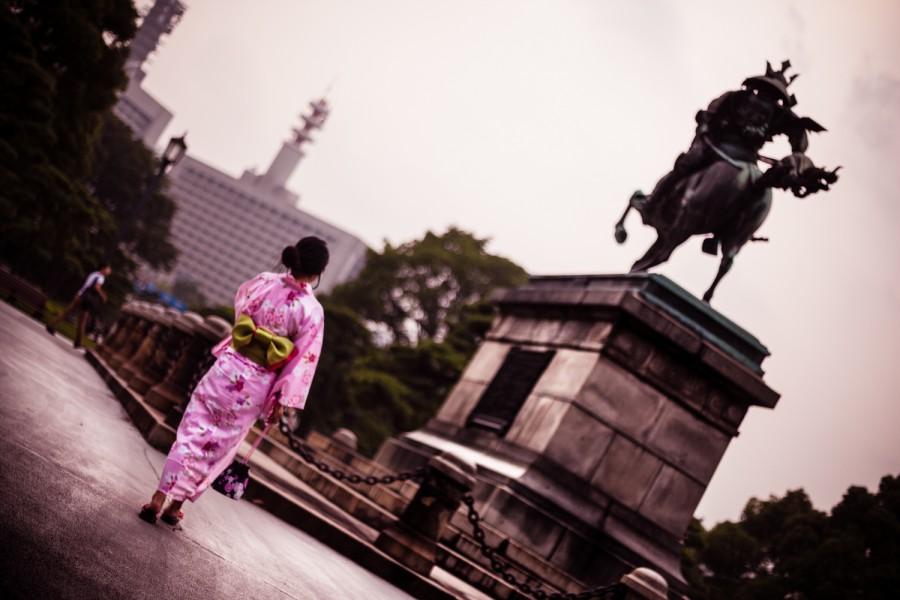 Persiguiendo al kimono