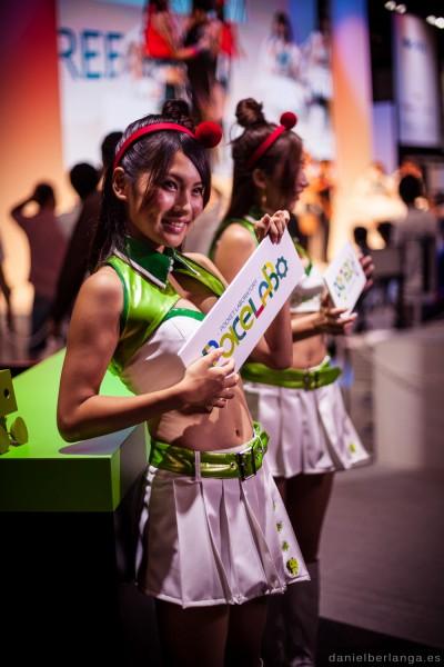 Las chicas del Tokyo Game Show 2013