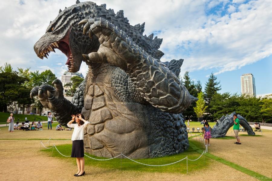 Godzilla en Tokyo