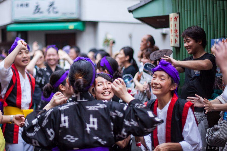 Okinawa matsuri en Nakano